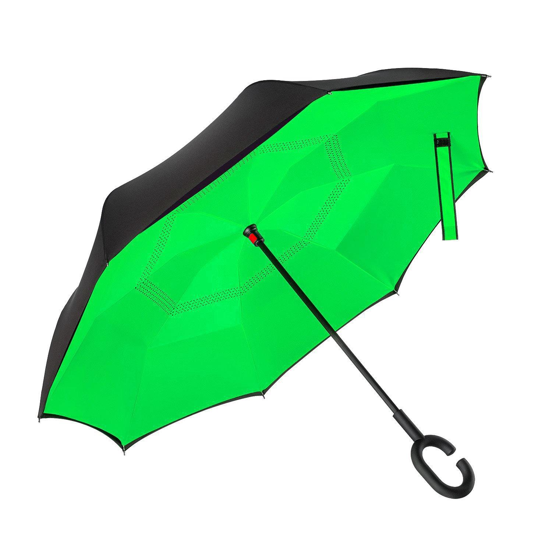 Умный зонт однотонный в ассортименте купить
