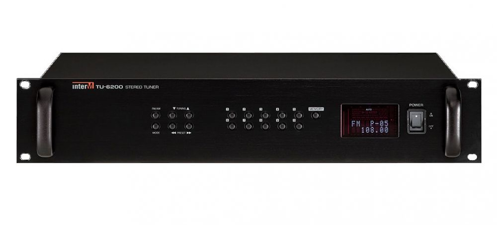 TU-6200 Inter-M Цифровой тюнер AM/FM диапазона