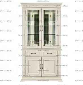 Шкаф-витрина Флоренция-2
