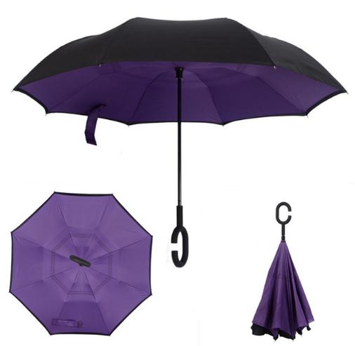 Зонт наоборот Фиолетовый