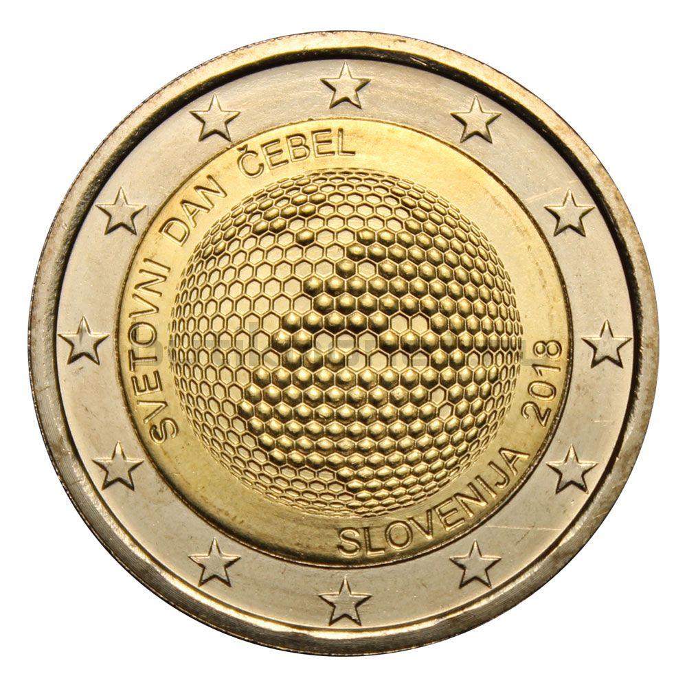 2 евро 2018 Словения Всемирный день пчёл