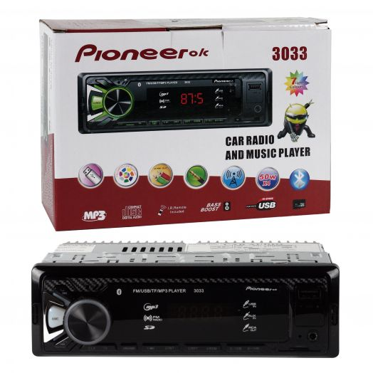 Автомагнитола  Pioneer-ok 3033 (Bluetooth)