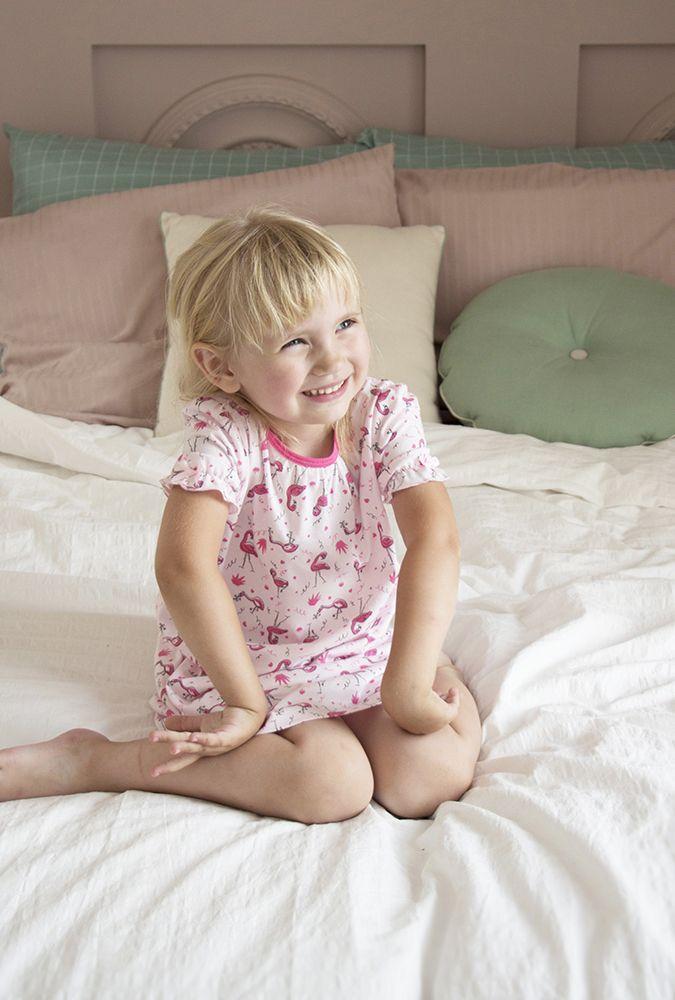 Ночная сорочка для девочки Фламинго
