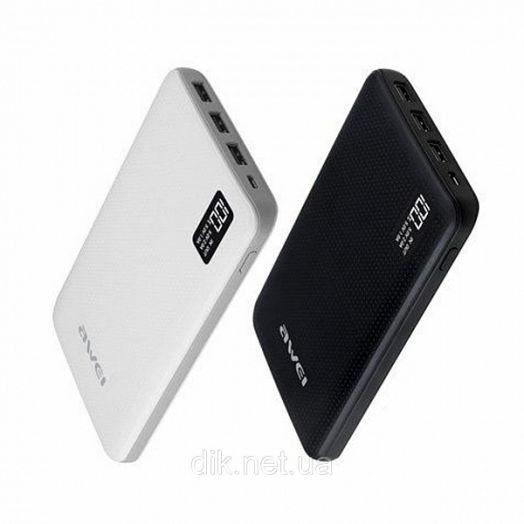 Портативный аккумулятор AWEI P56K (30000мА)
