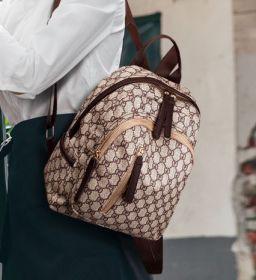 Рюкзак бежевый женский городской Сандерленд