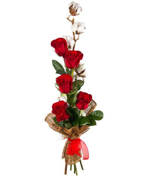 Букет из красных роз «Созвездие любви»