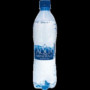 Вода Аква Минерале газир 0.6 л