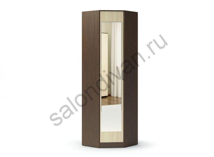 """Шкаф угловой с зеркалом к прихожей """"Модуль"""""""