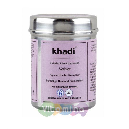 Khadi Маска для лица «Ветивер», 50 г