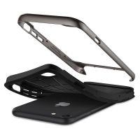 Чехол Spigen Neo Hybrid Herringbone для iPhone 8 стальной