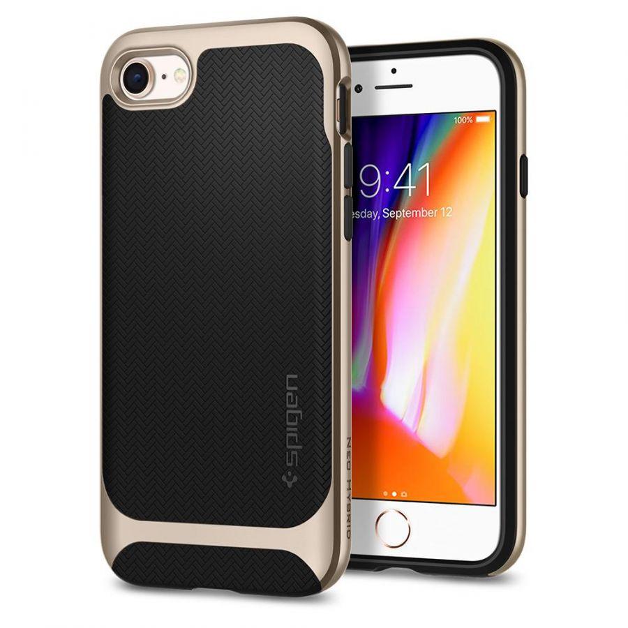 Чехол Spigen Neo Hybrid Herringbone для iPhone 8 золотой