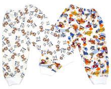 """Штаны для новорожденных с обычной резинкой C-ST810-SU (супрем) код 01651 """"Мамин Малыш"""" оптом"""
