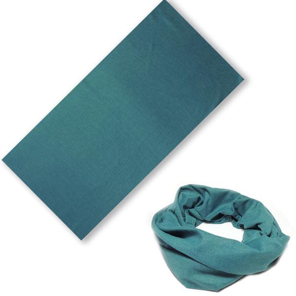 Бандана-трансформер зеленовато-синий цвет