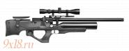 """Винтовка пневматическая буллпап (bullpup) PCP """"KRAL Puncher NEMESIS S"""" калибр 6.35 мм, пластиковое ложе, сертифицированная"""