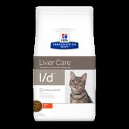Hill's PD Feline l/d Liver Care Диетический корм при заболевании печени (1,5 кг)