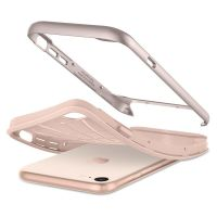 Чехол Spigen Neo Hybrid Herringbone для iPhone 7 бежевый