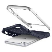 Чехол Spigen Neo Hybrid Herringbone для iPhone 7 серебристый