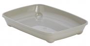 Moderna Arist-O-Tray Туалет для кошек без бортика (серый)