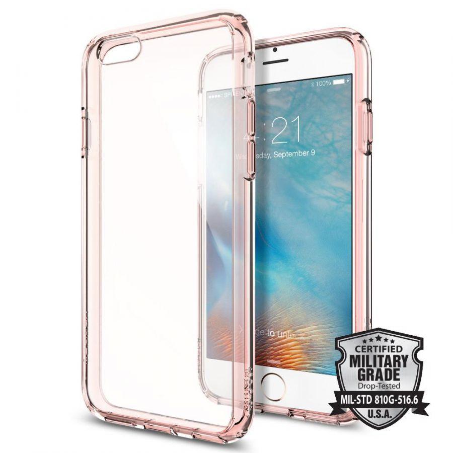 Чехол Spigen Ultra Hybrid для iPhone 6/6S розовый