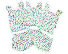 Пижама для девочек: футболка, шорты FC-PJ069-RB | ЦВЕТА | МАМИН МАЛЫШ