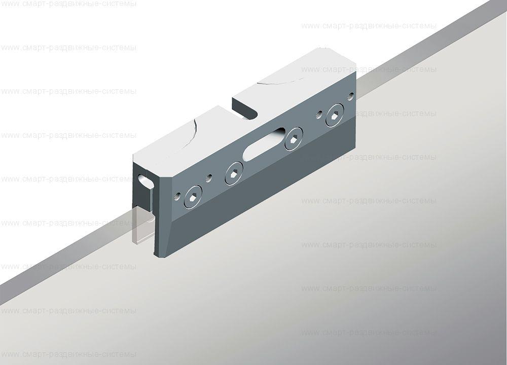 Зажимы ECLISSE VITRO для подвески цельносеклянного полотна без вырезов 8-10мм (2шт) - OPSVP3