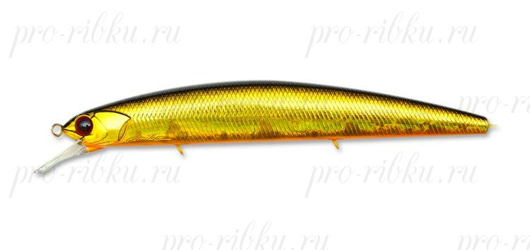 ВОБЛЕР OSP RUDRA F 130мм, 17г, цв. RE Crystal Gold (MO-05)