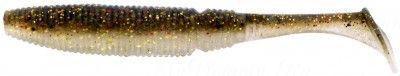 СИЛИКОНОВЫЕ ПРИМАНКИ SAKURA SLIT SHAD 100мм (уп. 8 шт.) цв. #050 Golden Shiner