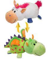 Мягкая игрушка вывернушка единорог дракон 40 см купить недорого в москве
