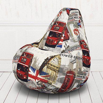 Кресло-груша Лондон Бус