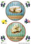Декупажные карты Set cheese 6