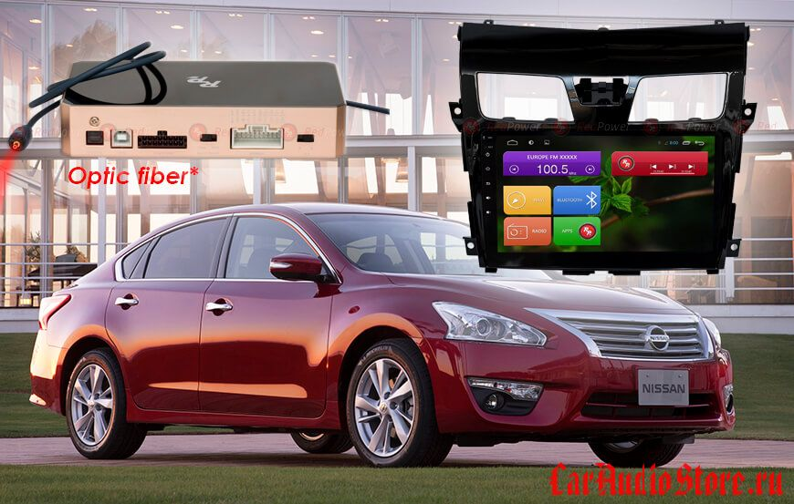 Redpower 31302 R IPS ANDROID 7 Nissan Teana