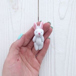 Мини зайка для куклы, 5 см