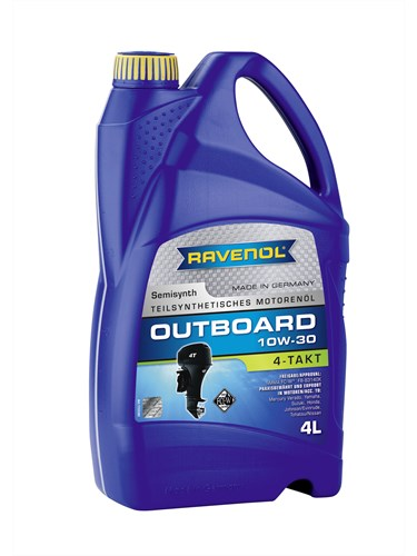 Масло для ПЛМ RAVENOL Outboardoel 10W-30