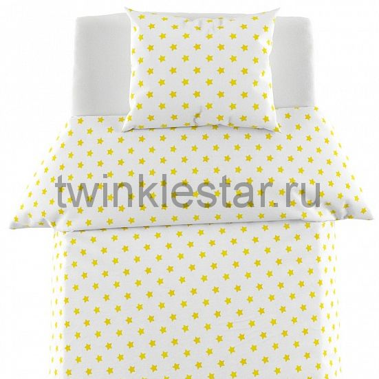 Starkids Yellow Постельное белье Giovanni 160*80 см.
