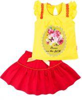 Комплект для девочки с юбочкой 2-6 лет BK336KP