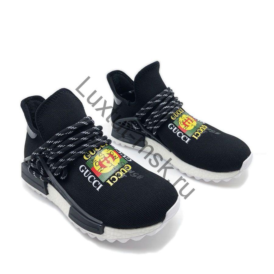 907435544244 Женские брендовые кроссовки Adidas NMD Gucci (Адидас НМД гуччи ...