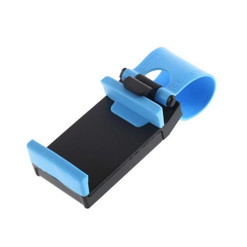 Держатель для телефона на руль (Цвет: Синий)