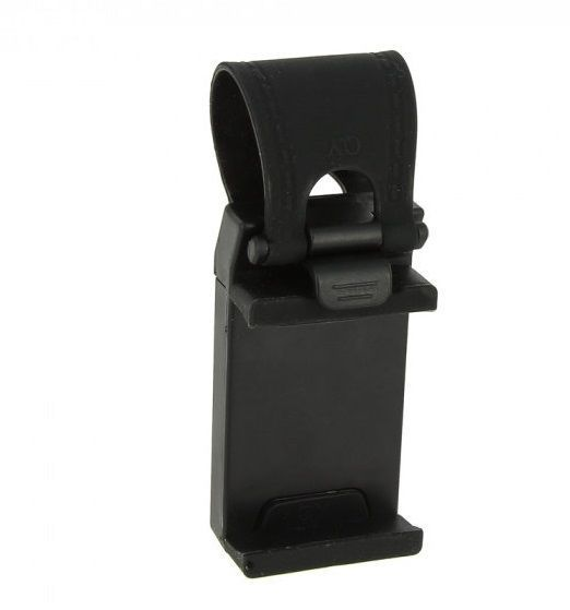 Держатель для телефона на руль (Цвет: Черный)