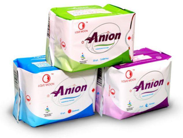 Ежедневные прокладки Лав Мун «Anion» 30 шт