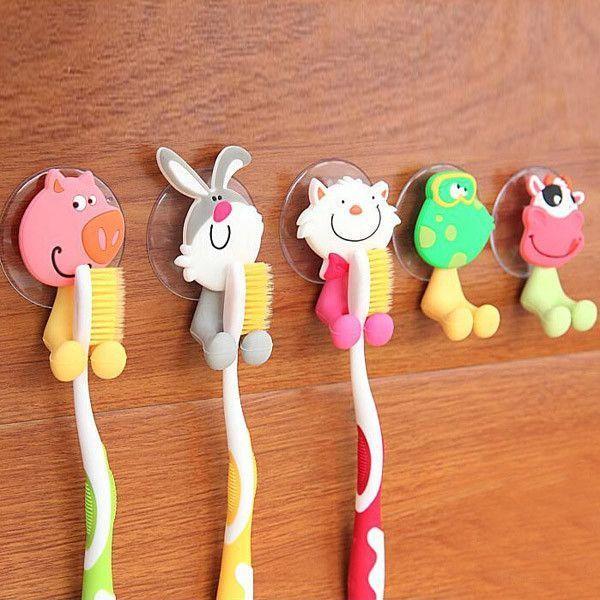 """Держатель для зубной щетки """"Забавные животные"""""""