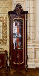 Шкаф-витрина 1-дверный левый/правый Шейх МДФ (80х56х245) (Гостиная)