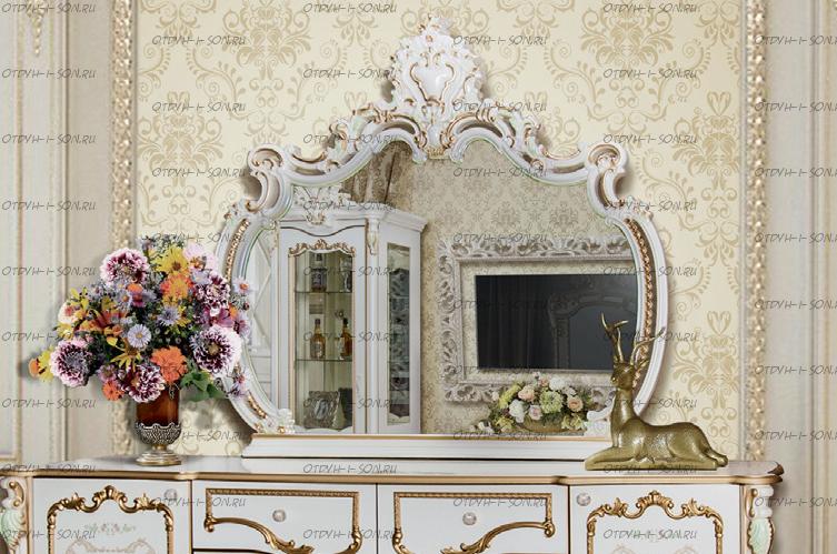 Зеркало Шейх МДФ (136х11х127) (Гостиная)