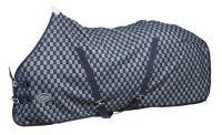 Денниковая двухслойная попона Horse Comfort с подкладкой из флиса.