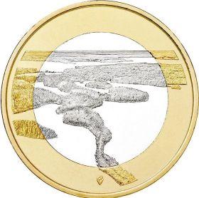 Ландшафты реки  Пункахарью 5 евро Финляндия 2018