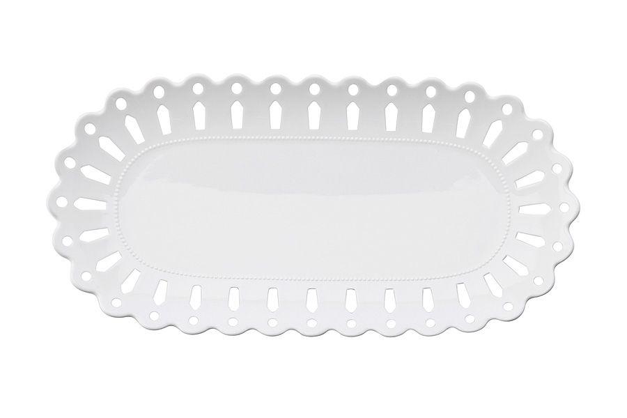 """Блюдо овальное """"Лилия"""", 30х15 см, подарочная упаковка"""