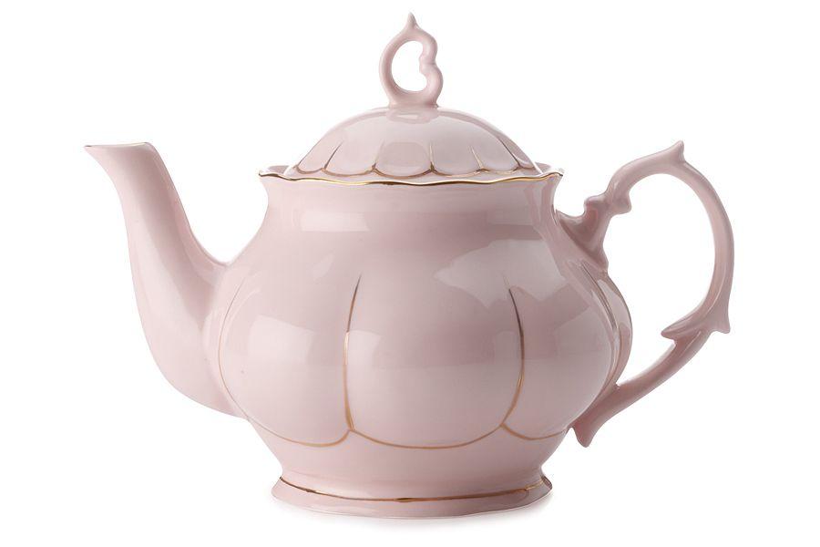 """Чайник (розовый) """"Свежее дыхание"""", 0.75 л, подарочная упаковка"""
