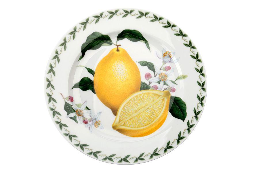 Тарелка Лимон, 20 см, подарочная упаковка