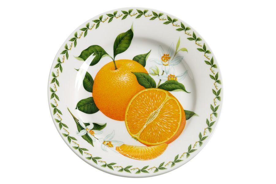 Тарелка Апельсин, 20 см, подарочная упаковка