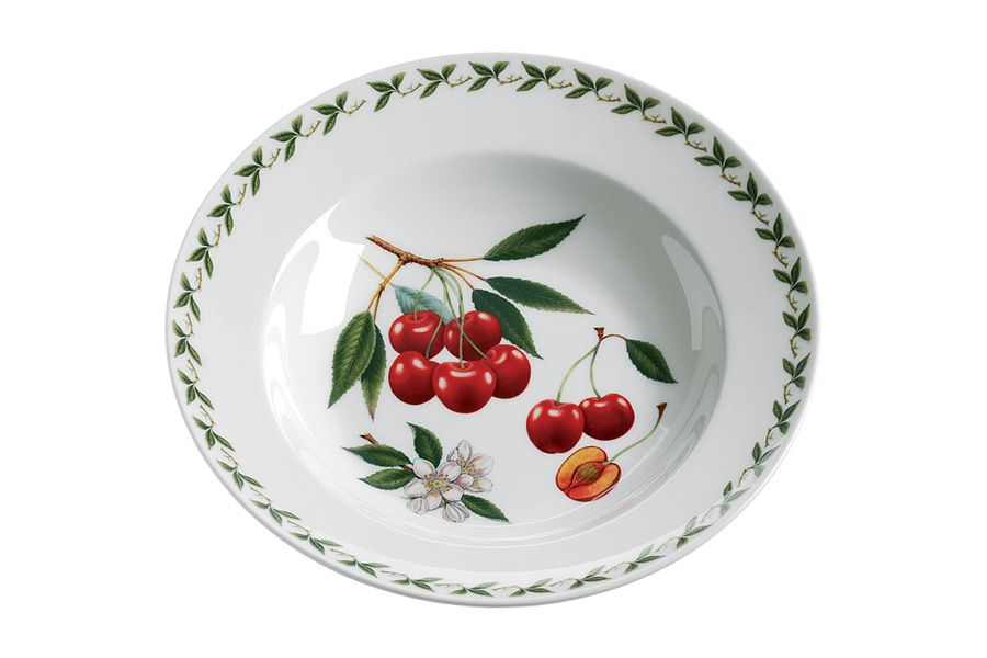 Тарелка суповая Вишня, 23 см, без инд. упаковки