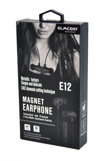 ELMCOEI E-12 наушники вакуум - гарнитура